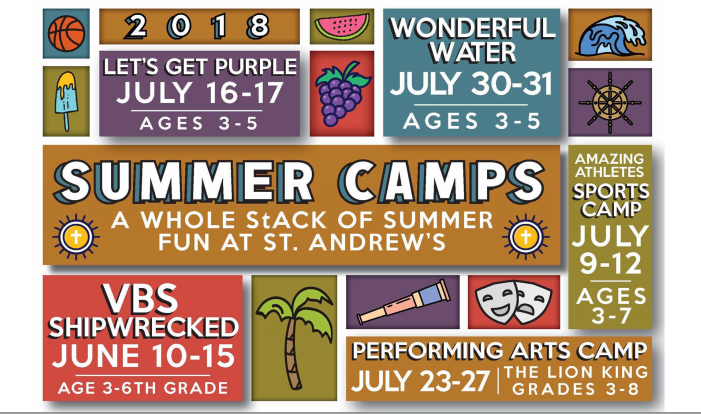 St. Andrew's Summer Camps